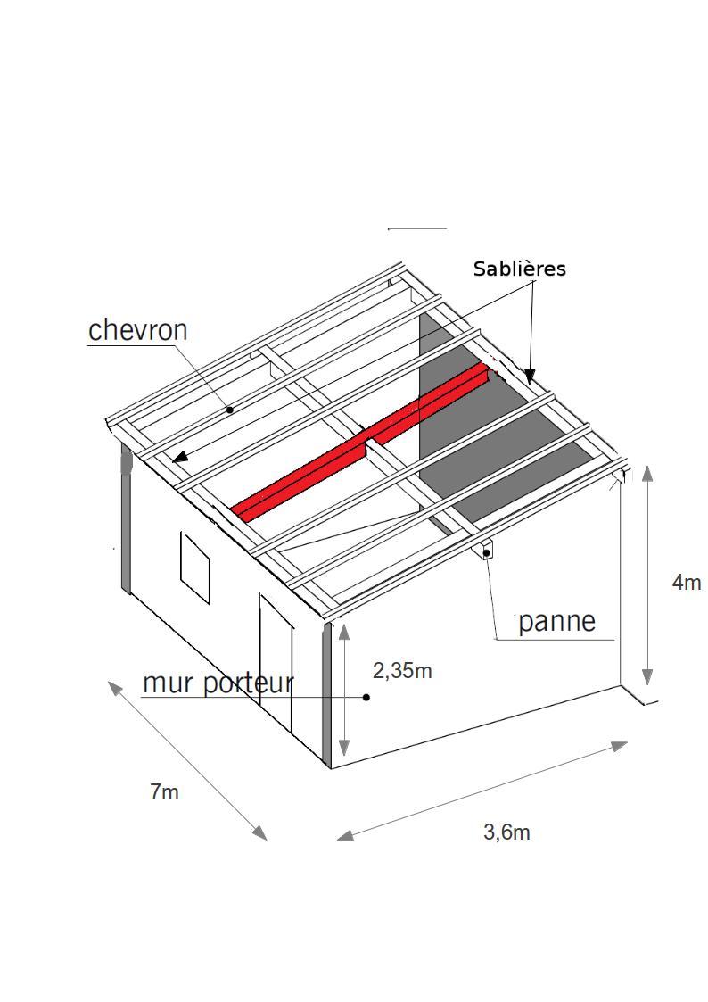 forum www.bois.com : charpente garage monopênte - Construire Une Charpente De Garage